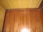 新しい床:入り口側;クリックすると大きな写真になります