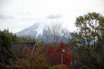 雪化粧した大山:クリックすると大きな写真になります