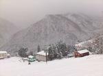 初積雪30cmの大久保ゲレンデ;クリックすると大きな写真になります