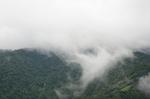 氷ノ山も雲が低くかかっていた:Hütte Hachi;クリックすると大きな写真になります。