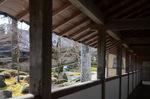 寒々とした永源寺境内;クリックすると大きな写真になります
