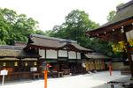 河合神社本堂;クリックすると大きな写真になります。
