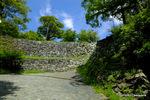 表坂の石垣;クリックすると大きな写真になります。