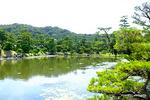 養翠園の庭園;クリックすると大きな写真になります。
