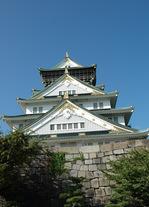 大阪城天守閣:クリックすると大きな写真になります