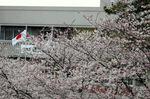 栂・美木多駅から栂文化センター方面;クリックすると大きな写真になります