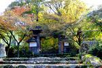 惣門付近:高源寺(丹波);クリックすると大きな写真になります。