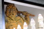 金剛力士像、右:石龕寺(丹波);クリックすると大きな写真になります。