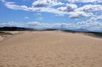 鳥取砂丘;クリックすると大きな写真になります
