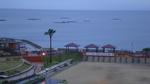 露天風呂から橘湾を望む:小浜温泉;クリックすると大きな写真になります