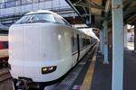 特急こうのとり:豊岡駅;クリックすると大きな写真になります。