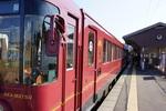 あかまつ車両:豊岡駅にて;クリックすると大きな写真になります。