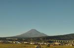 富士山:新富士を通過したあたり;クリックすると大きな写真になります