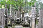赤穂四十七士の墓;クリックすると大きな写真になります
