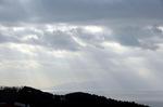 相模灘:大島を望む:クリックすると大きな写真になります