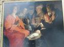 ラ・トウール「羊飼いの礼拝」;クリックすると大きな写真になります。