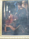 「聖イレネに介抱される聖セバティアヌス」;クリックすると大きな写真になります。