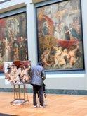 ルーベンス「マリード・メディシスの生涯(王妃マルセイユに上陸)」;クリックすると大きな写真になります。