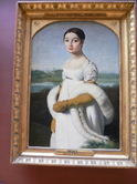 同「カロリーヌ・リヴィエール嬢」;クリックすると大きな写真になります。