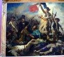 ドラクロア「民衆を導く自由の女神」;クリックすると大きな写真になります。