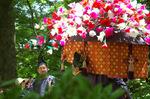 葵祭風流傘;クリックすると大きな写真になります
