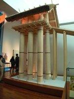 十六丈神殿の10分の1模型;クリックすると大きな写真になります
