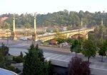 チェコ橋;クリックすると大きな写真になります