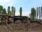 ドイツ軍によって破壊されたガス室;クリックすると大きな写真になります