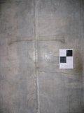 削り取られた中門の十字架(修復の計画があるらしい);クリックすると大きな写真になります