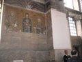 聖母子のモザイク;クリックすると大きな写真になります