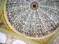 トプカプ宮殿の大ドーム。果物の木々が美しい;クリックすると大きな写真になります