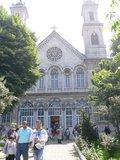 イスティクラル通り沿いのギリシャ正教教会;クリックすると大きな写真になります