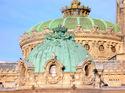 パリ・オペラ座の天井部外観;クリックすると大きな写真になります。