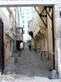 マレ地区・スイス文化デンター小路;クリックすると大きな写真になります。