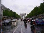 パリ・凱旋門;クリックすると大きな写真になります。