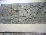 アッシリアノライオン狩りレリーフ;クリックすると大きな写真になります。