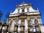 パリの教会(名称不明);クリックすると大きな写真になります。