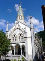 津和野教会の外観;クリックすると大きな写真になります