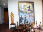 聖コルベ記念館の内部:クリックすると大きな写真になります