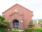煉瓦造りの黒崎教会:クリックすると大きな写真になります