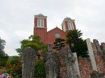 再建された浦上天主堂:クリックすると大きな写真になります