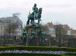 青銅の騎士像;クリックすると大きな写真になります