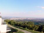 カーレンベルクの丘から見たウイーン市街:クリックすると大きな写真になります