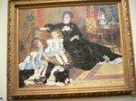 ルノアール「シャンバンティエ夫人と子供たち」;クリックすると大きな写真になります