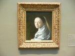 フエルメール「若い女の肖像」