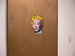 ウオーホル「ゴールド・マリリン・モンロー」;クリックすると大きな写真になります