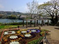 湖と公園;クリックすると大きな写真になります。