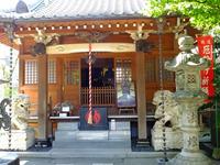源覚寺閻魔堂;クリックすると大きな写真になります。
