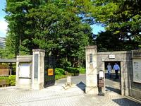 小石川後楽園西門;クリックすると大きな写真になります。