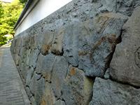 築地塀;クリックすると大きな写真になります。